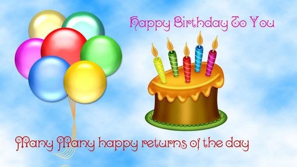 Happy Birthday To U Images