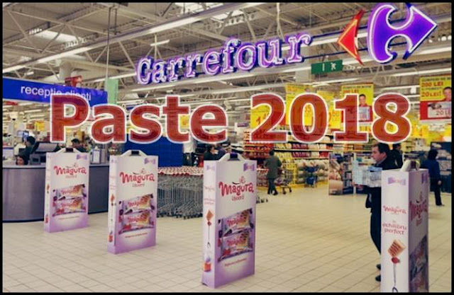 program paste 2018 auchan kaufland carrefour mega image lidl