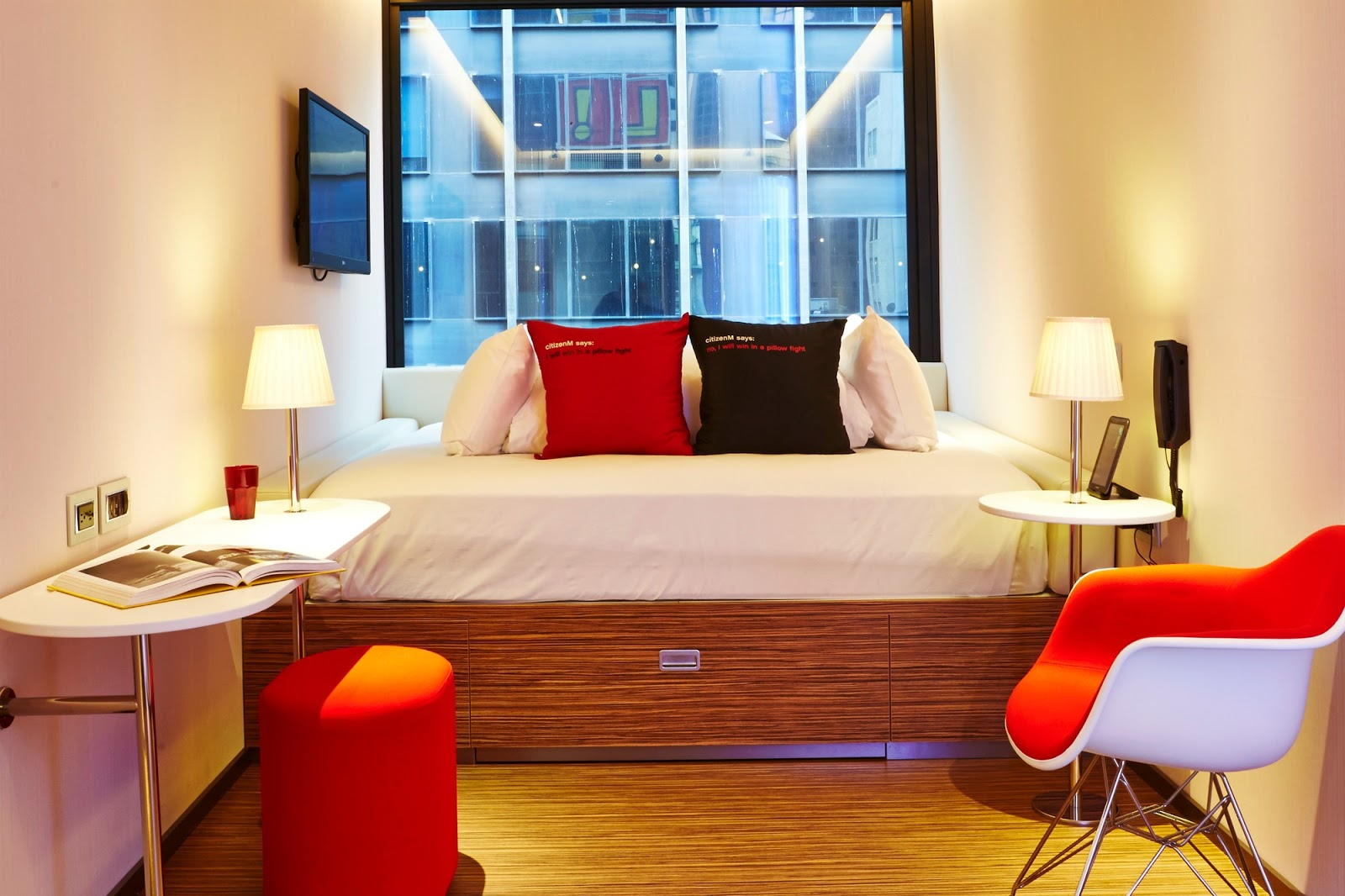 citizenm new york times square room