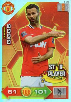 Paul Wasted novato uno para ver tarjeta Panini Adrenalyn Xl 2011//12 Man United