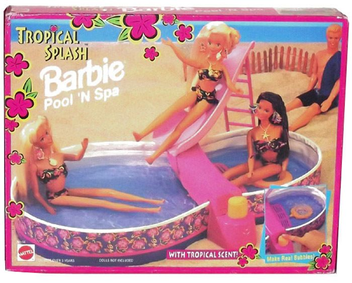 The Barbie Blog Hot Tub Roast