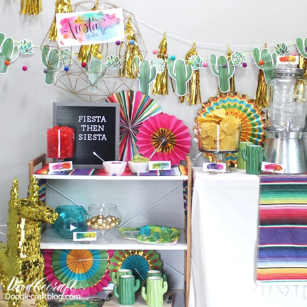 Host a fiesta party with supplies, decorations and ideas from Oriental Trading.
