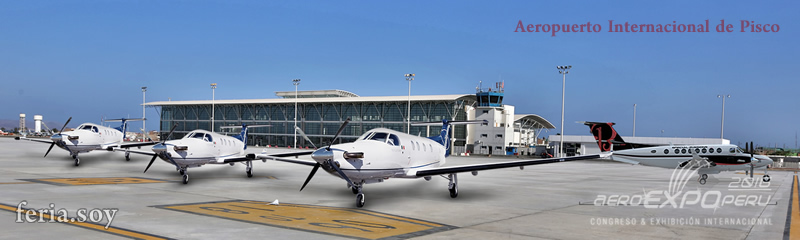 AeroExpoPeru 2016 a realizarse del 21 al 23 de octubre en el aeropuerto internacional de Pisco
