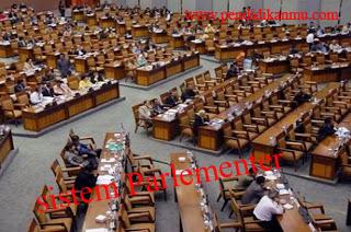 Pengertian Sistem Parlementer Di Indonesia
