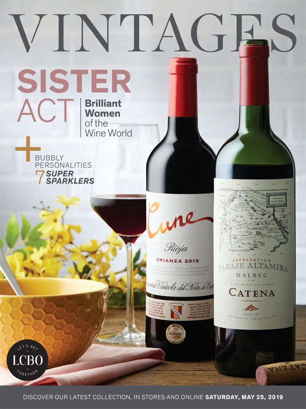 LCBO Wine Picks: May 25, 2019 VINTAGES Release