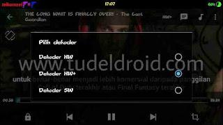 Pilih Dekoder Untuk Memperlancar Video