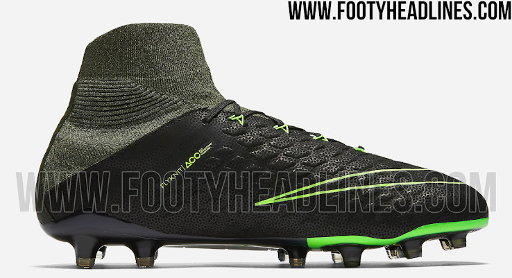 0bb55dc8799 ... the new Nike Hypervenom Phantom 3 soccer boot boasts striking Electric  Green applications and also comes with Sequioa (dark green) and Palm Green  (Olive ...