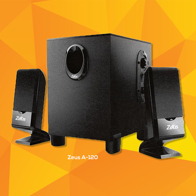 best budget desktop speakers - Zeus A-120