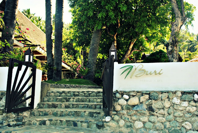 Buri Resort and Spa Signage