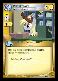 My Little Pony Delivery Mare, Wrong Address Friends Forever CCG Card