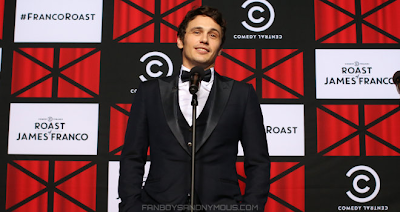 Best Jokes at James Franco Comedy Central Roast 2013