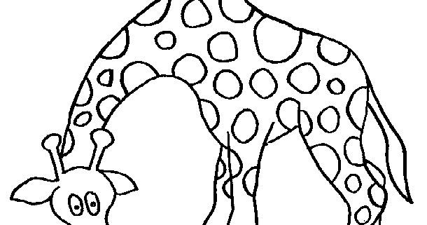 Desenho De Animais Do Zoológico Reunidos Para Colorir: La Chachipedia: Jirafas Para Colorear, Dibujos Coloreados