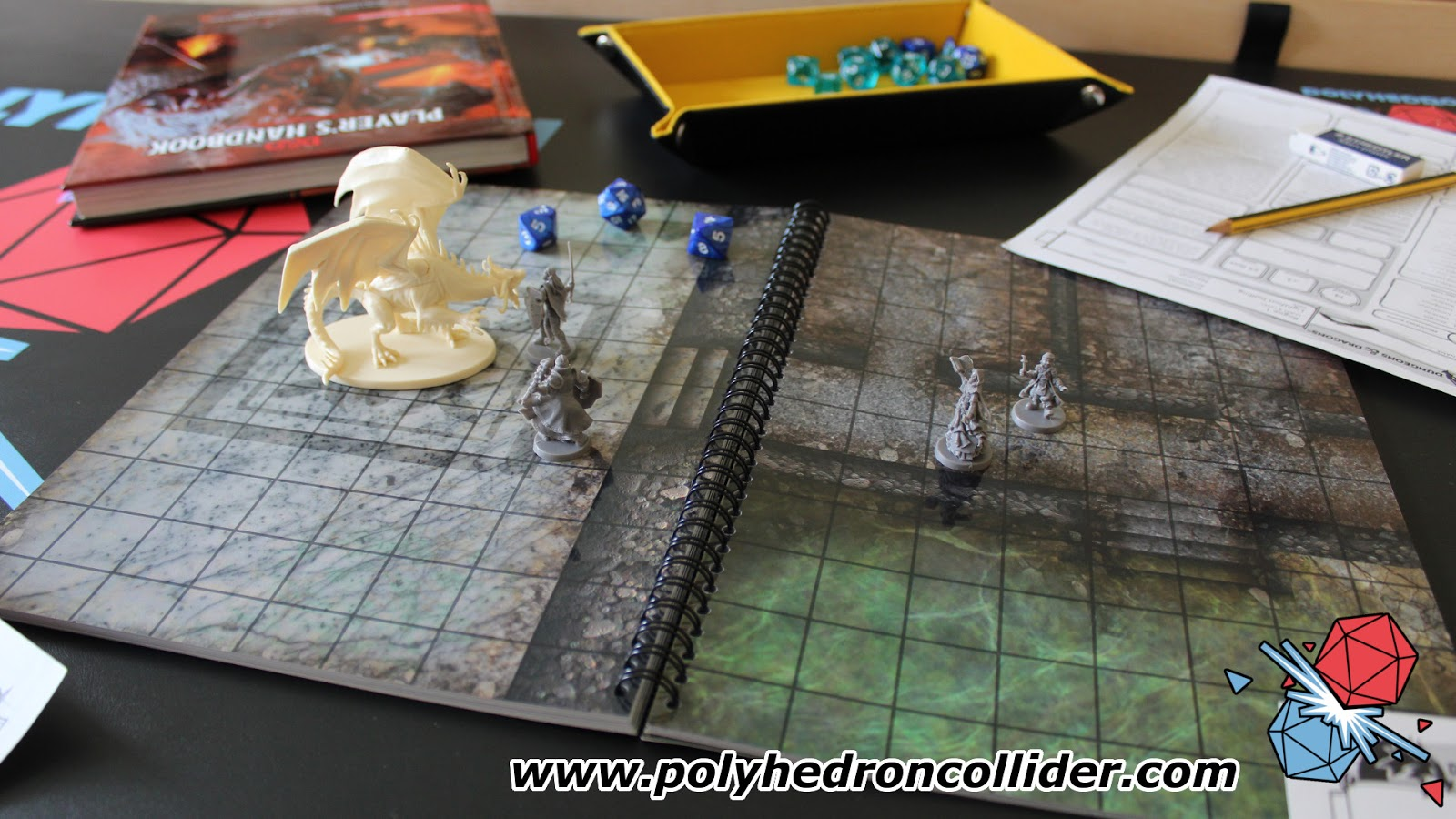 Dungeons & Dragons The Big Book of Battle Mats Review