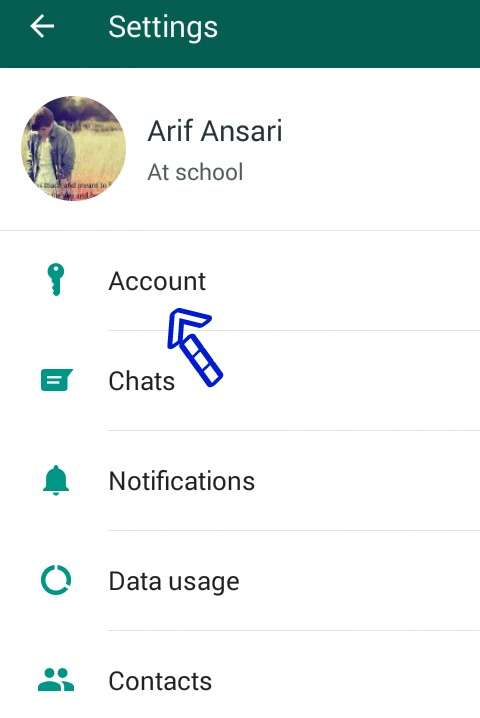 whatsapp number change kare