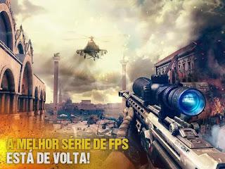 Modern Combat 5: FPS eSports Apk Mod Modo Deus