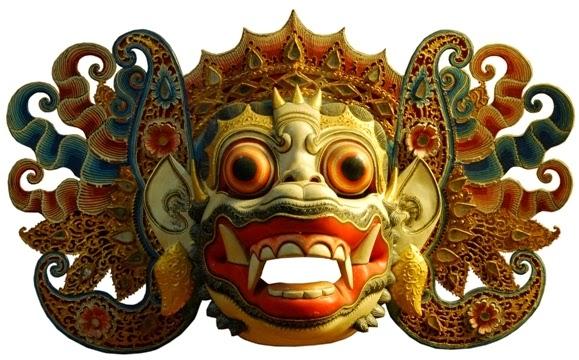 Gambar Topeng Tradisional Wayang Rahwana Budaya Indonesia