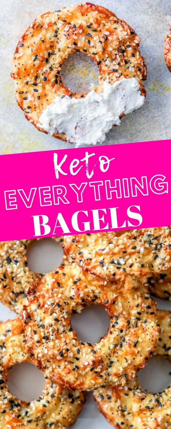 Easy Keto Everything Bagels Recipe  # easy #keto #everything #bagels #recipe