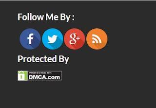 Tampilan DMCA di Blog Inspiratif