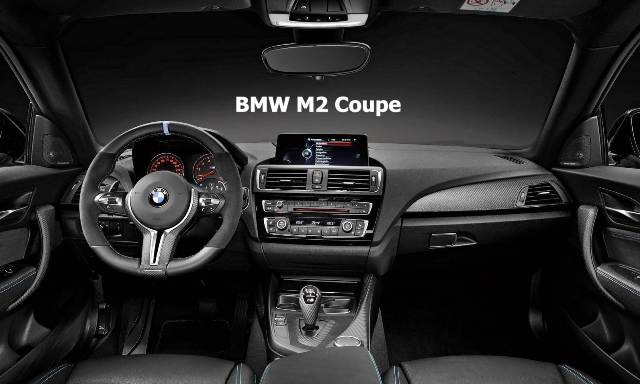 2016 BMW M2 Coupe Review Inside