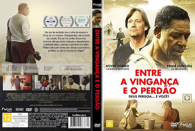 Capa DVD Entre A Vingança E O Perdão