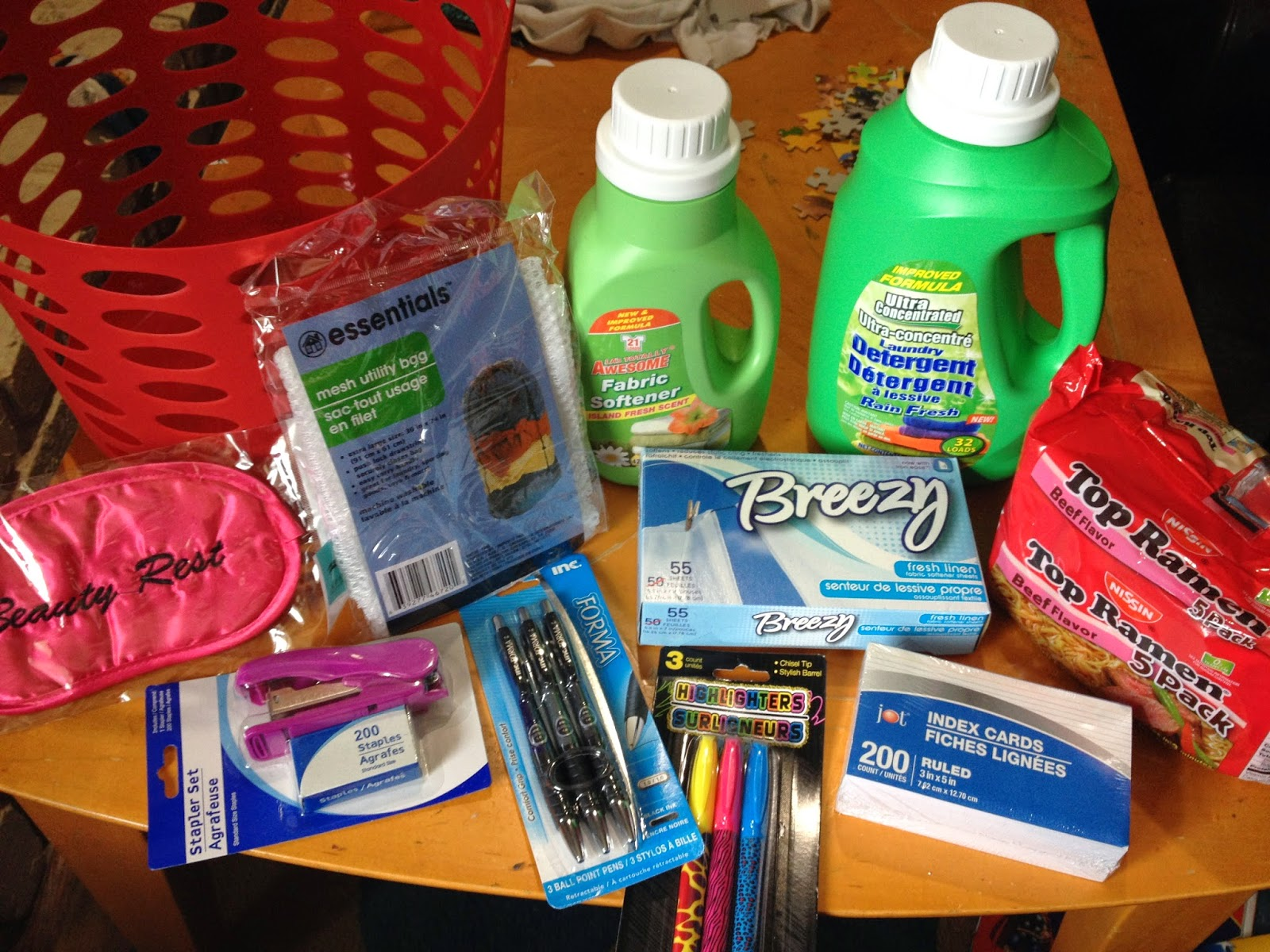 Proverbs 31 Mom College Survival Kit