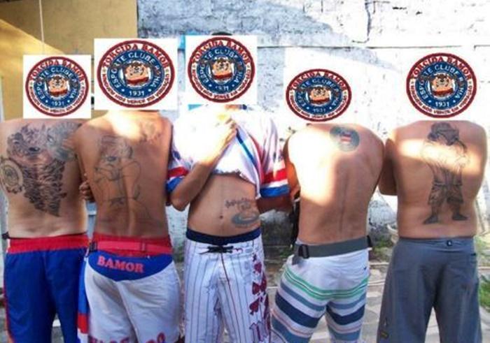 Integrantes de torcida organizada do Bahia são detidos por balear torcedor do Vitória 1