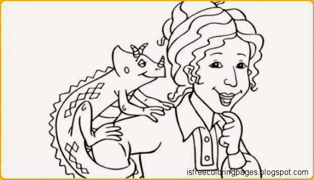 - Free Coloring Pages: The Magic Bus Coloring Pages