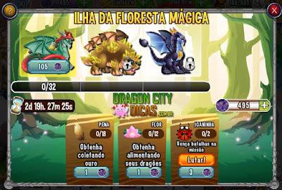 Ilha da Floresta Mágica 2016 - Itens e Dicas