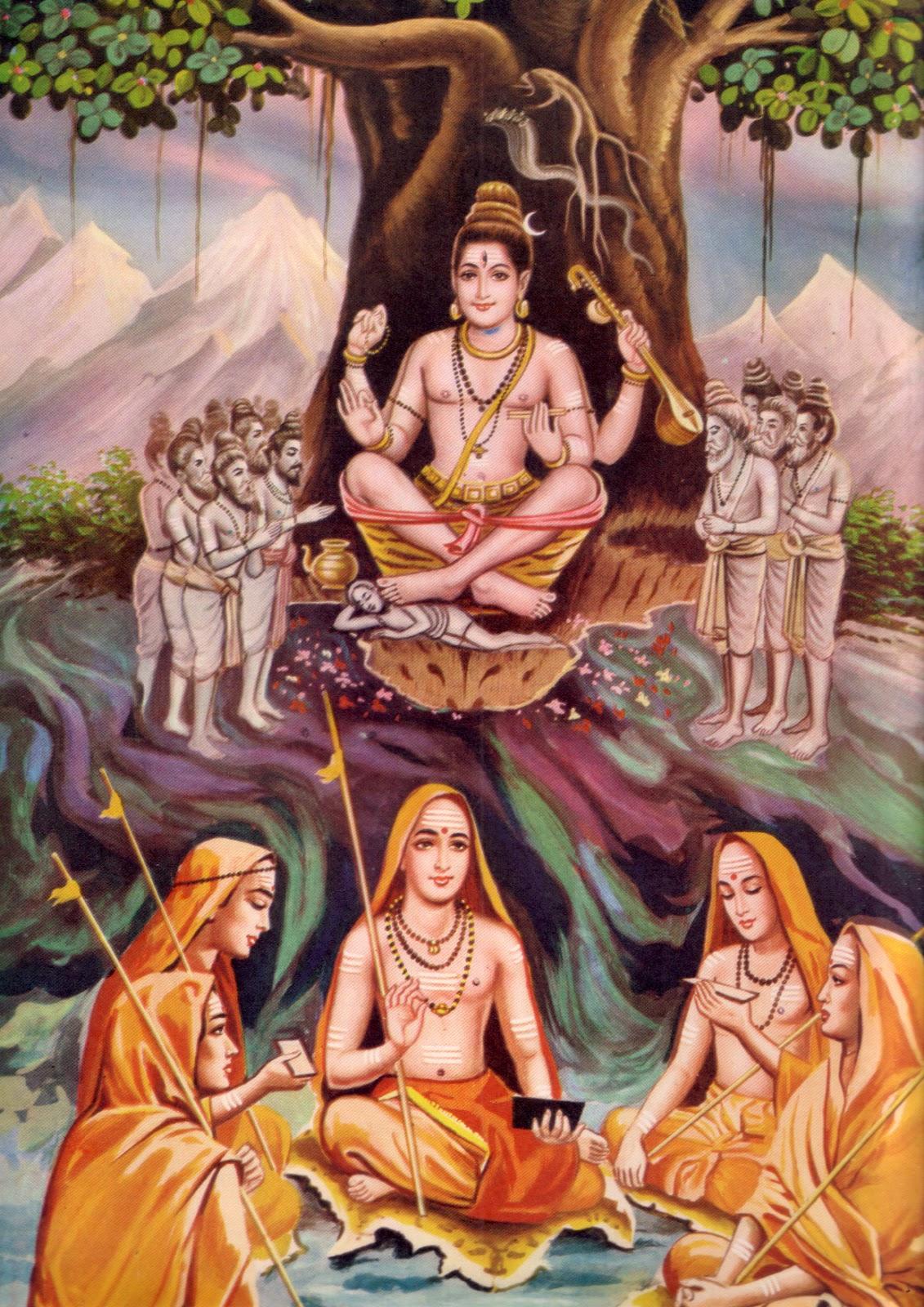 Saint Aadi Shankaracharya