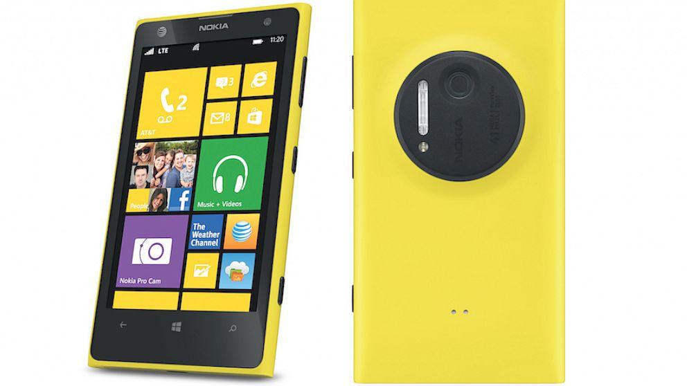 Nokia Lumia 1020 Android Desain terbaik didunia