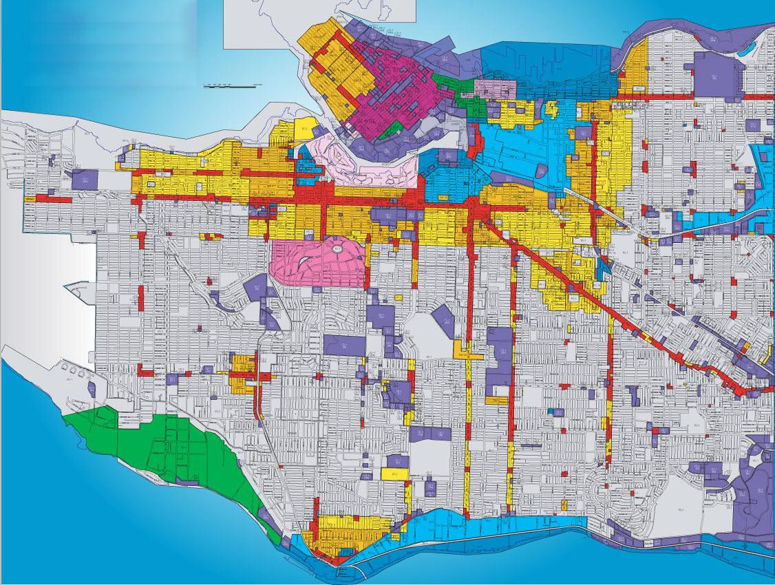 Dallas Zoning Map