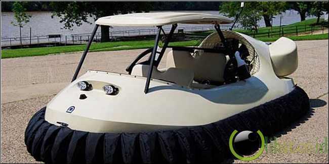 Mobil golf hovercraft