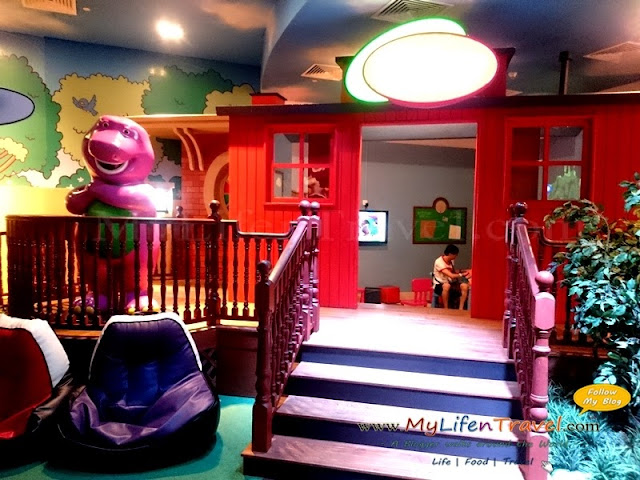 Barney's Playhouse