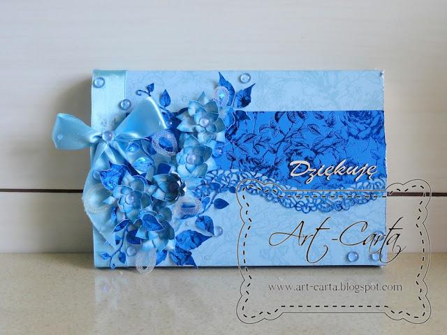 Niebieskie czekoladki