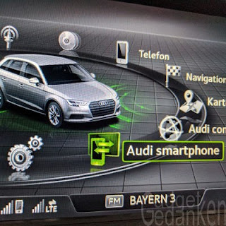 Audi MMI - Hauptmenü - Audi Smartphone