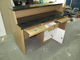 Meja Front Desk Kantor - Furniture Semarang