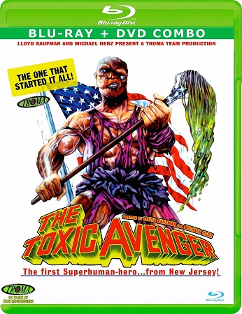 Poster Of The Toxic Avenger 1984 Dual Audio 720p BRRip [Hindi - English] - UNRATED Free Download Watch Online