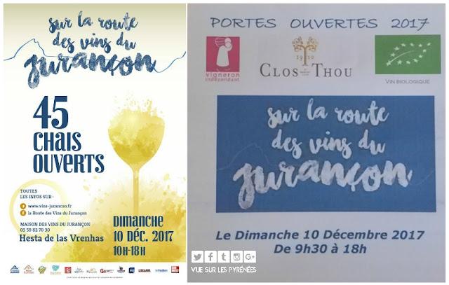 Route des Vins du Jurançon Clos THOU 2017