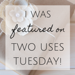 http://www.sarahcelebrates.com/two-uses-tuesday-link-up-28/