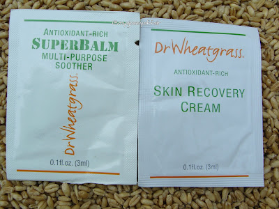 Dr Wheatgrass - SuperBalm and Skin Recovery Cream Review