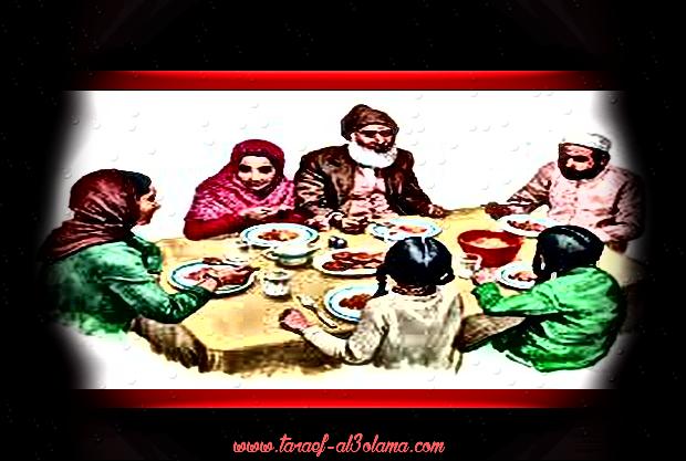 """""""آداب إسلاميّة """"آداب الأكل والشرب http://goo.gl/xEeOXs"""