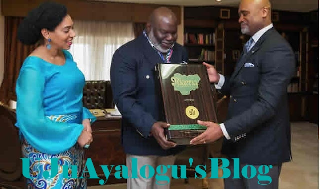 American mega pastor, TD Jakes, traces Igbo roots, visits Nigeria