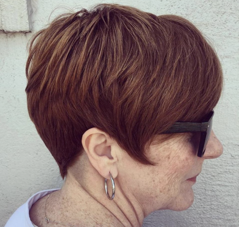 gorgeous short hairstyles for women over 70