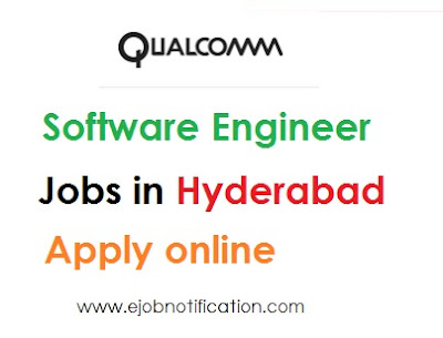 Qualcomm Fresher Job Openings Hyderabad Software Engineer Apply Online