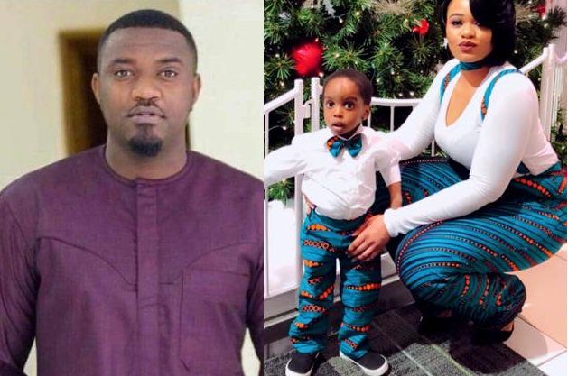 Photos: US-based Liberian lady says actor John Dumelo is the father of her son