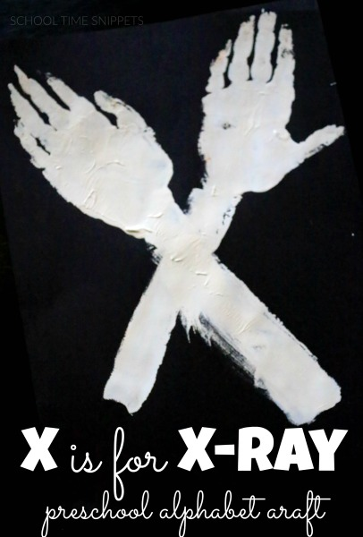 letter x alphabet craft