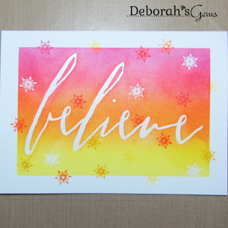 Believe sq - photo by Deborah Frings - Deborah's Gems