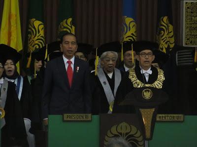 Didampingi Puan dan Sri Mulyani, Presiden Jokowi Dies Natalis Kampus UI - Info Presiden Jokowi Dan Pemerintah