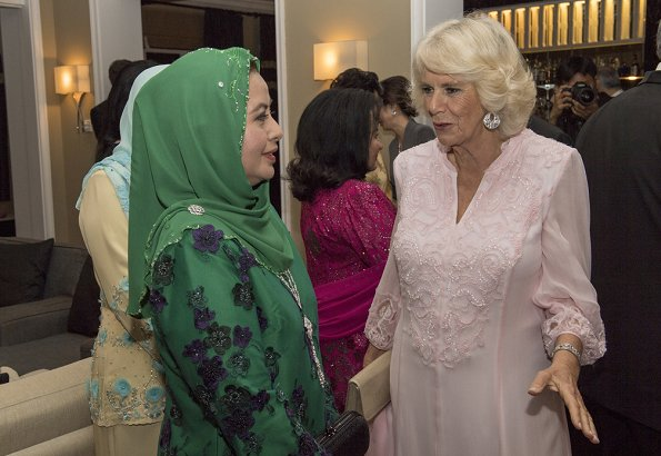 Prince Charles and Duchess Camilla met with shoe designer Jimmy Choo Gala dinner at Majestic Hotel