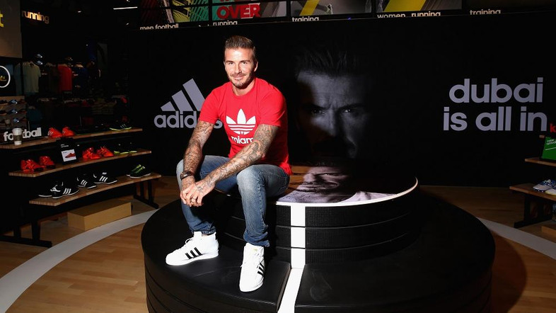 Beckham in Dubai Mall